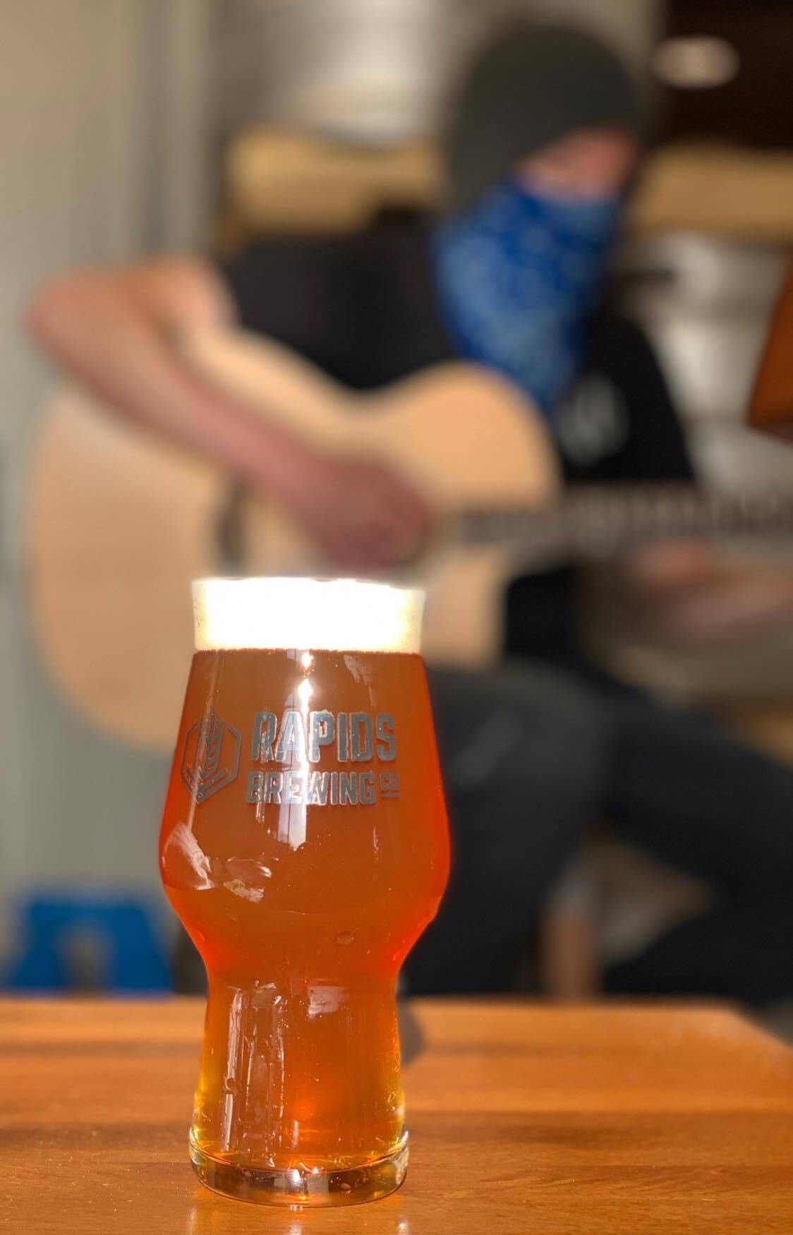 Jam on Double Time Beer in glass