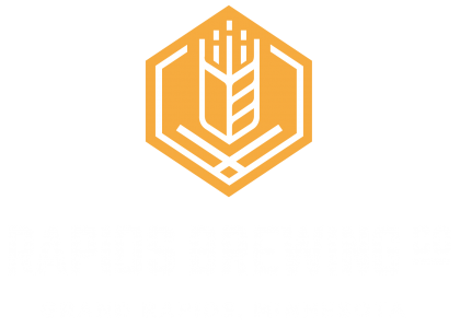 Rapids Brewing Company gold logo